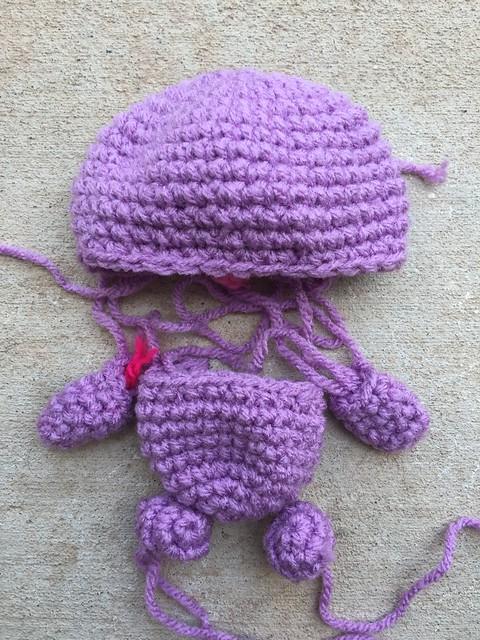 One last amigurumi (for now) from Mei Li Lee's Hello Kitty Crochet book.