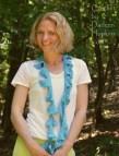 del mar scarf, crochet pattern by Darleen Hopkins