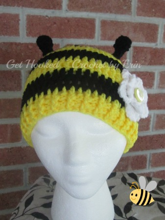 bumble bee hat 3