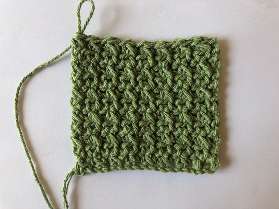 squished single crochet stitch tutorial