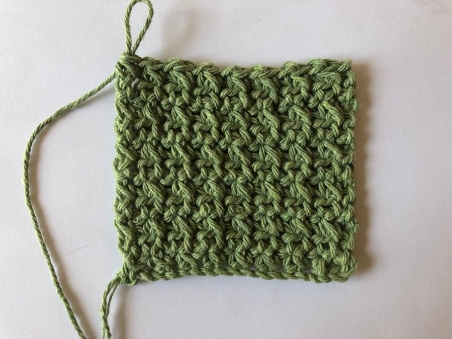 squished single crochet stitch tutorial