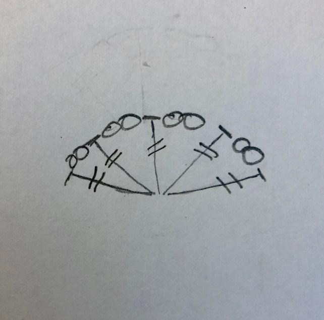 open fan stitch