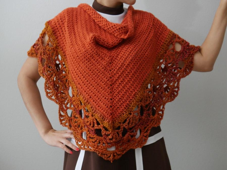 crochet harry potter inspired shawl