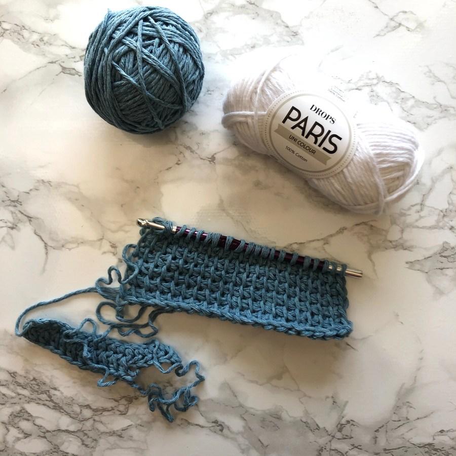 crochet oven mitt
