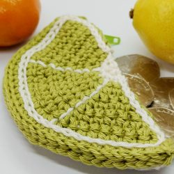 Lime Crochet Coin Purse - Free Crochet Pattern
