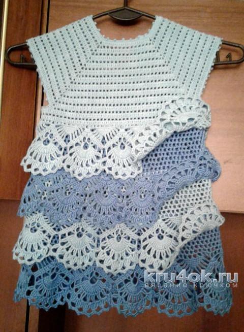 Vestido Niña Crochet Crochet Niñas