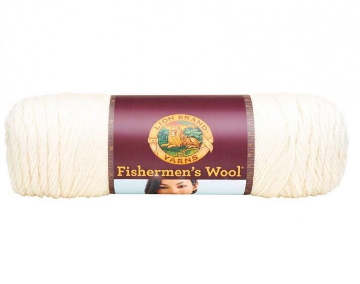Lion Brand Yarn Fishermen's Wool - great yardage, dyable and feltable!