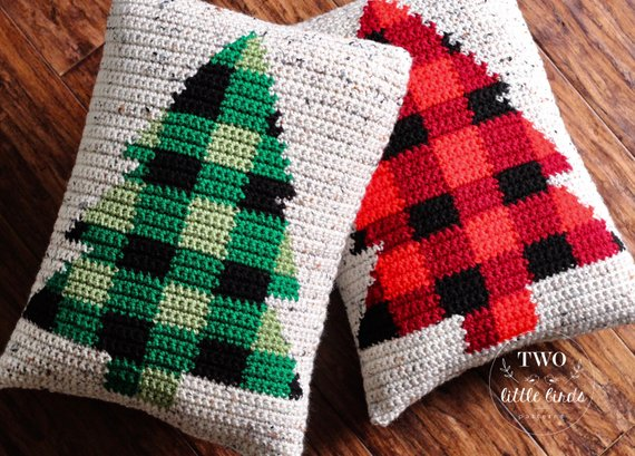 Buffalo Spruce Pillow