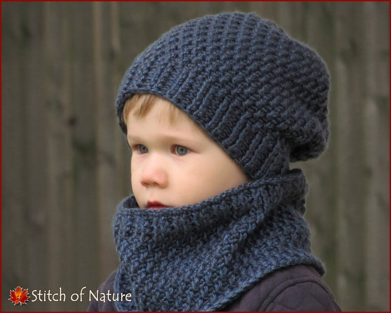 Portland Slouchy Hat and Cowl