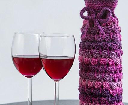 Grapey Goodness Wine Cozy