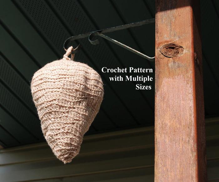 Crochet Hornet Nest Pattern