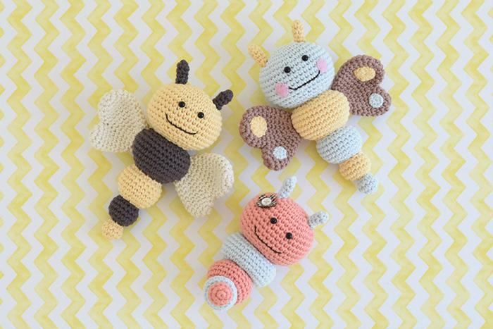 Baby Rattle Crochet Pattern