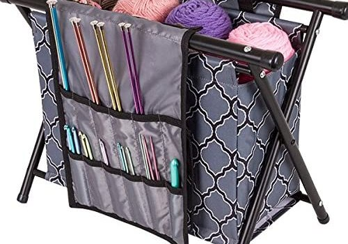 ArtBin Needle Arts Caddy: Knitting & Crochet Organizer, Collapsible