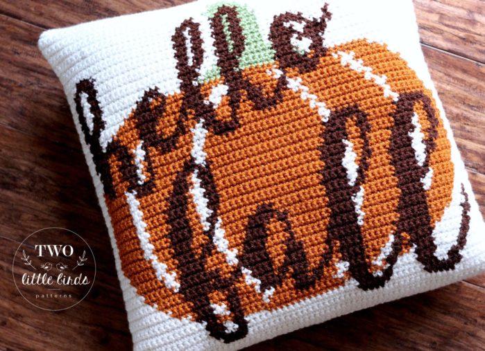 Fall Pillow Crochet Pattern