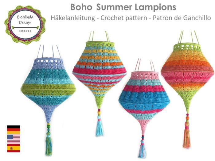 Boho Summer Lampion
