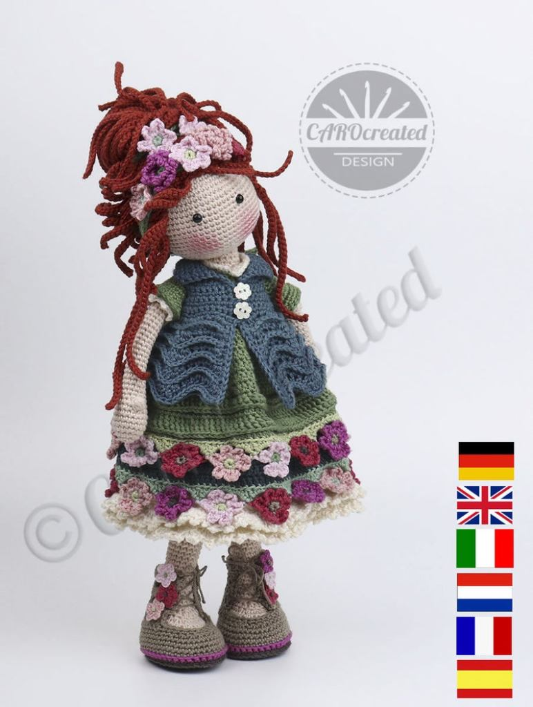 ESJA Doll Crochet Pattern
