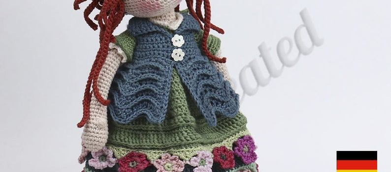 ESJA Doll Crochet Pattern by CARO Created