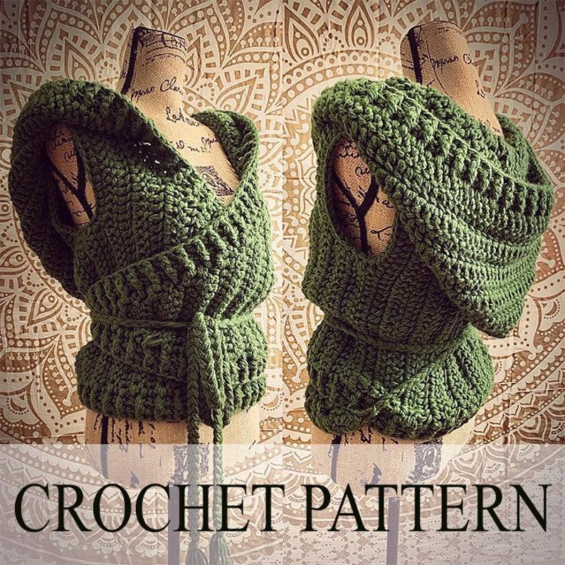 Crochet Chunky Bulky Wrap Vest