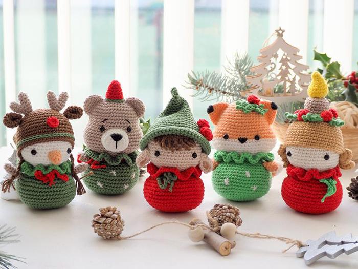 Cuddly Crochet Christmas Decorations