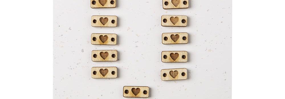 Tiny Heart Tags by Katrinkles