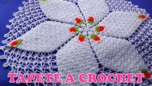 Tapete con crochet