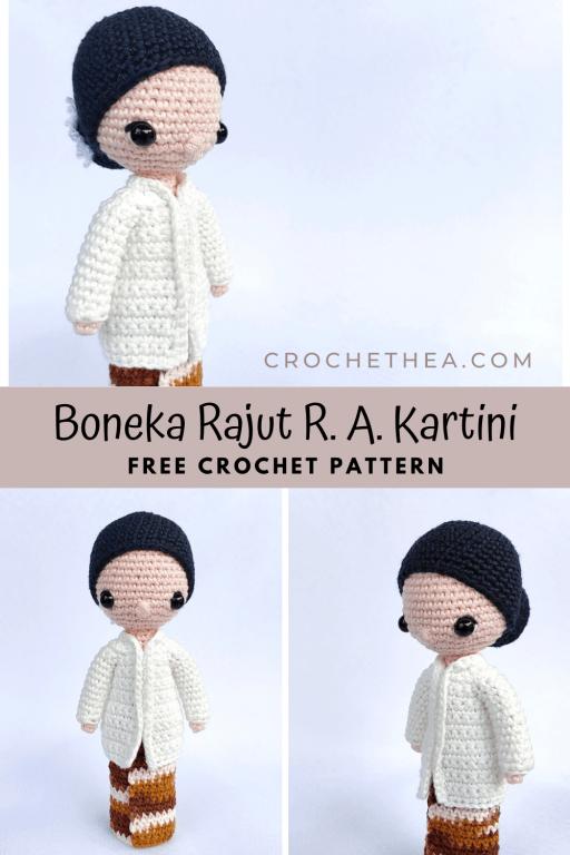 boneka rajut R A Kartini pinterest