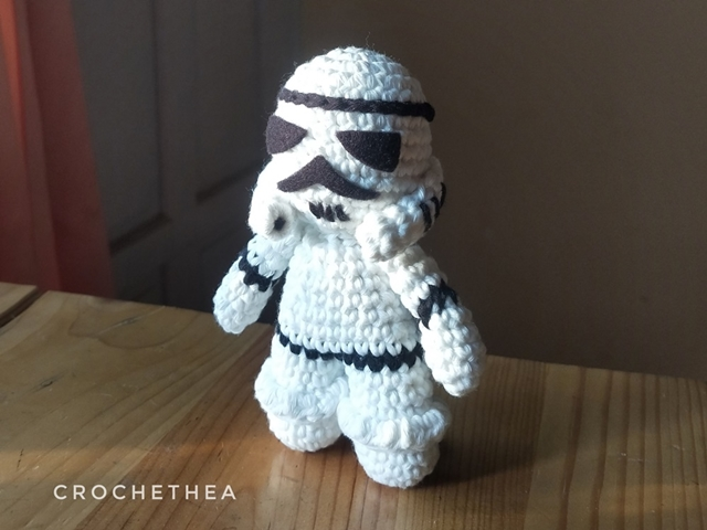 Stormtrooper Amigurumi (English Pattern)