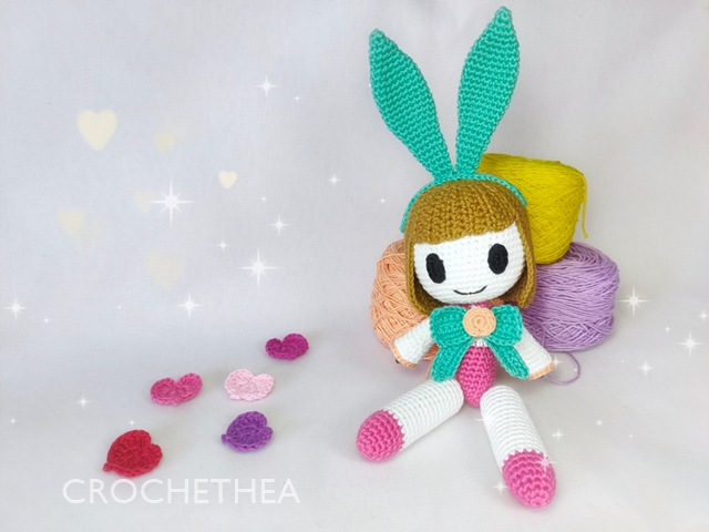 Boneka Rajut Angela – Hero Mobile Legends