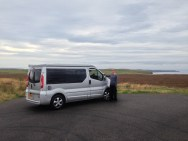 iVan somewhere on the A836 after Thurso