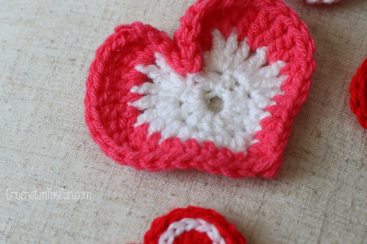 How To Crochet Hearts Free And Easy Tutorial Mix And Match Repeat