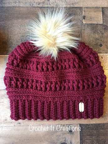 The Ana Beanie Crochet Pattern by Crochet It Creations 4aac8868ce4