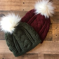 Braided Cable Beanie Crochet Pattern