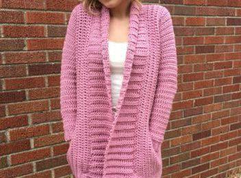 Cameo Cardigan Adult XS/S Crochet Pattern