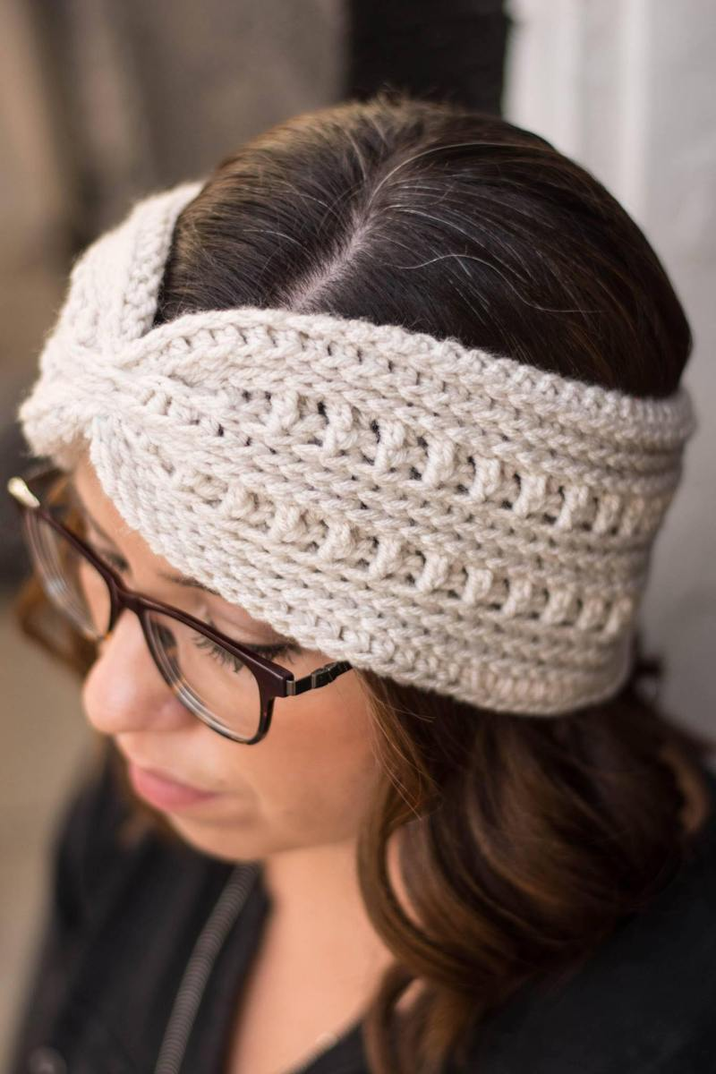 Ana Ear Warmer Crochet Pattern
