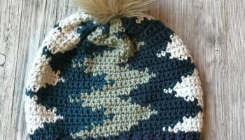 0dcc7a8bb78 Crochet it Creations - Vertical Chevron Beanie Companion Video