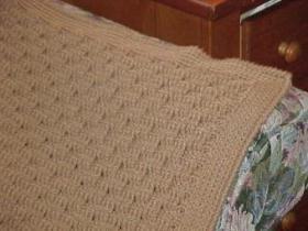 CrochetKim Free Crochet Pattern | Basket Weave Afghan @crochetkim