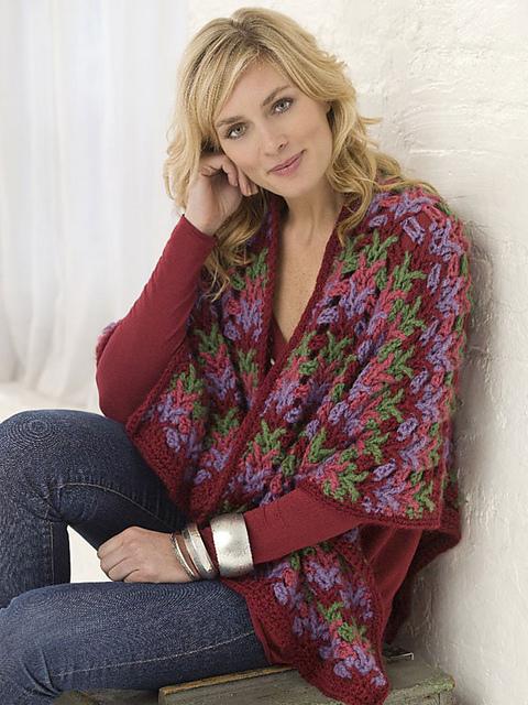 CrochetKim Free Crochet Pattern | Christmas Country Wrap