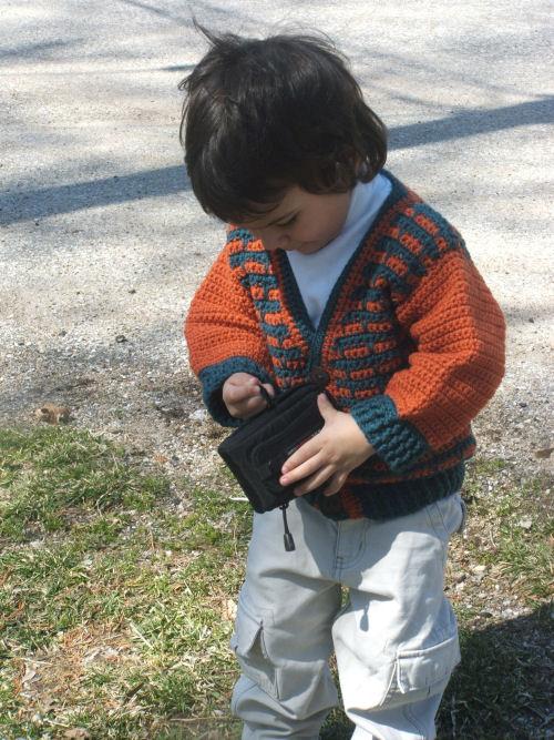 CrochetKim Free Crochet Pattern | Jacob Child's Jacket @crochetkim