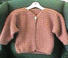 CrochetKim Free Crochet Pattern | Girl's In a Jiffy Jacket @crochetkim