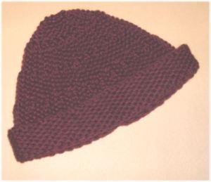 CrochetKim Free Crochet Pattern | Ribbed Beanie @crochetkim