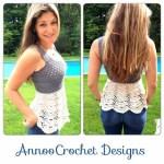Free Crochet Pattern: Ballerina Top