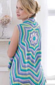 Free Crochet Pattern: Rippling Vest