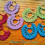 Free Crochet Pattern: Summertime Earrings