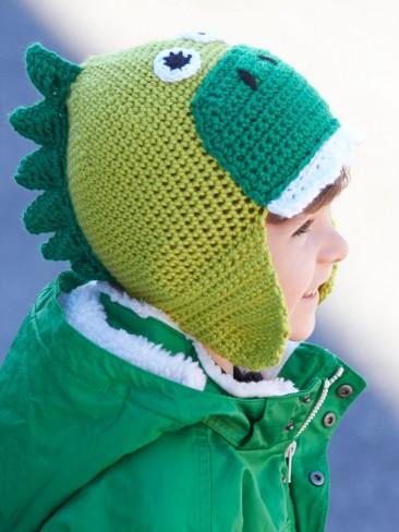Hatosaurus Dinosaur Hat Free Crochet Pattern Crochetkim