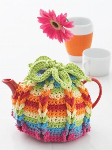 Hot Hibiscus Tea Cozy Free Crochet Pattern Crochetkim