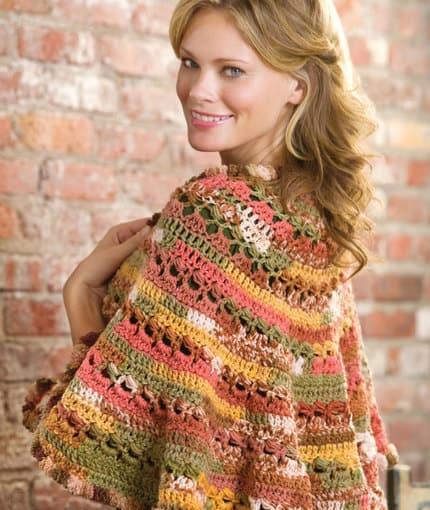 Free Crochet Pattern: Santa Fe Sunset Shawl