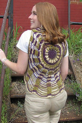 Free Crochet Pattern: Unchained Circles Vest