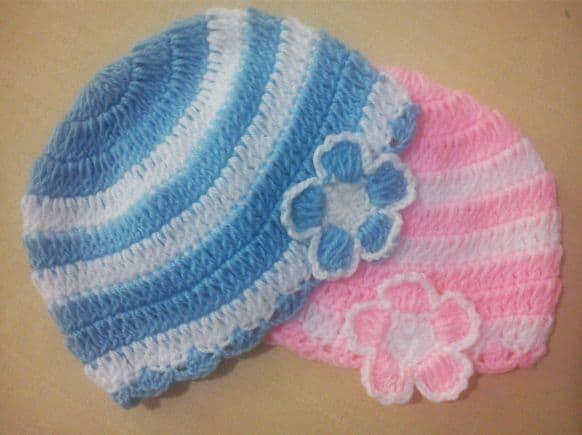 Baby Beanie Free Crochet Pattern