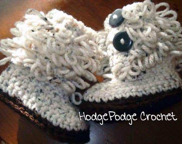 Free Crochet Pattern: Loopy Boots
