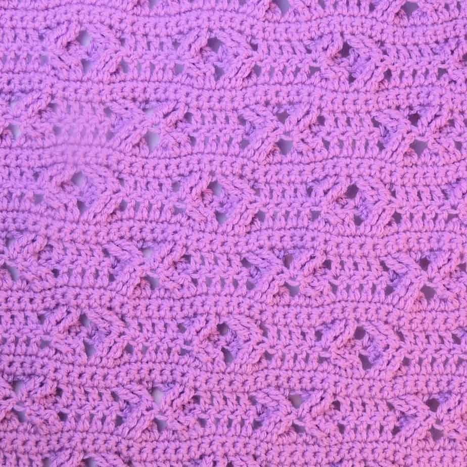 Besos Baby Blanket CrochetKim Free Crochet Pattern